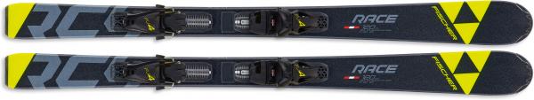 FISCHER Kinder Racing Ski RC4 RACE JR SLR + FJ4 AC SLR