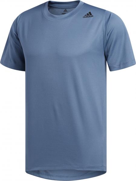 ADIDAS Herren T-Shirt FreeLift Sport Fitted 3-Streifen