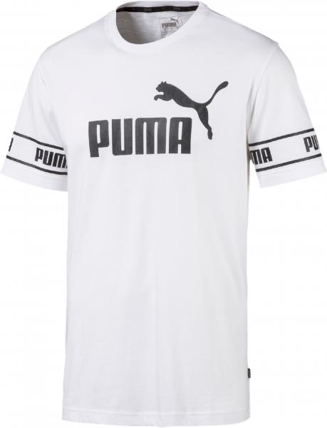 PUMA Herren Amplified Big Logo Tee