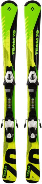 TECNOPRO Kinder Skier \Pulse Team 70 ET\ inklusive Bindung \ETC45/ETL75\