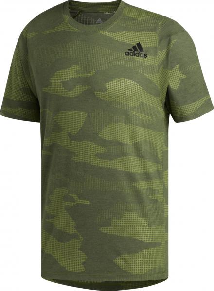 ADIDAS Herren T-Shirt FreeLift Camo Burnout