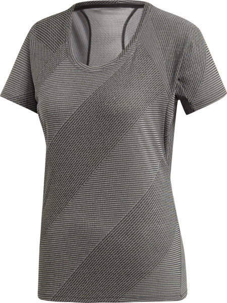 ADIDAS Damen T-Shirt Jacquard