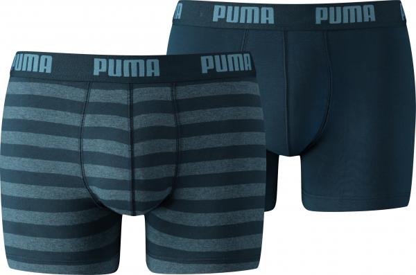 PUMA Herren Unterhose STRIPE 1515 BOXER 2P