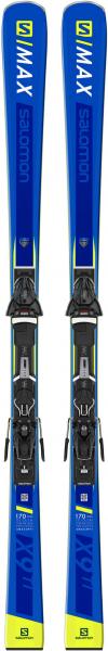 SALOMON Skier \E S/MAX TI\ inkl. Bindung \Z10 GW\