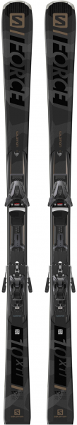 SALOMON Skier \E S/Force X10 Ti\ inkl. Bindung \Z12 GW 80\