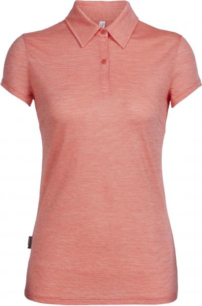 ICEBREAKER Merino Damen Funktionsshirt Women's Cool-Lite Sphere Short Sleeve Polo