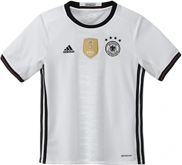 ADIDAS Kinder Fußballtrikot Home Trikot Deutschland EM 2016