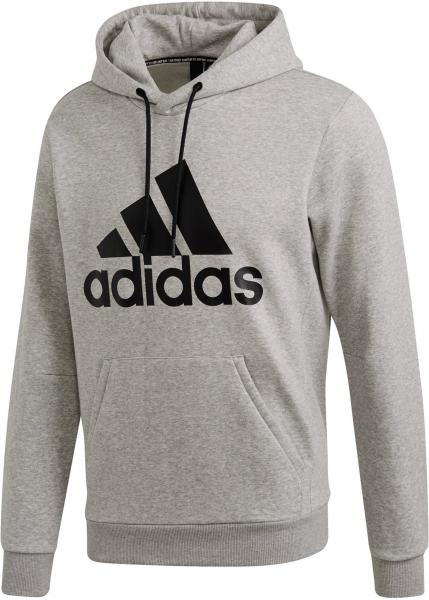 ADIDAS Herren Kapuzen-Sweatshirt \Must Haves Badge of Sport Fleece Pullover\