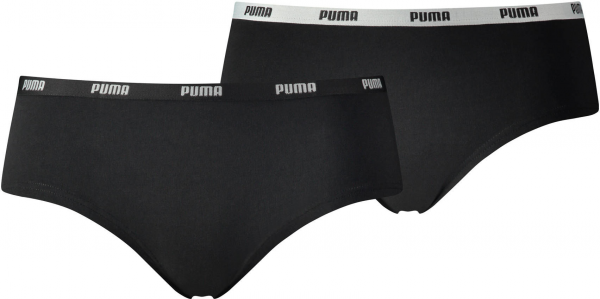PUMA Damen Slip Iconic Hipster 2er-Pack