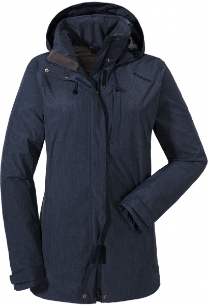 SCHÖFFEL Damen Wanderjacke / Outdoorjacke ZipIn! Jacket Fontanella