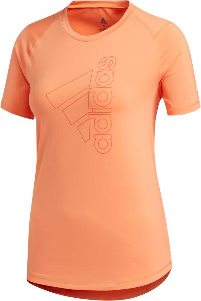 adidas Damen Logo Tee Aeroready Sport T-Shirt