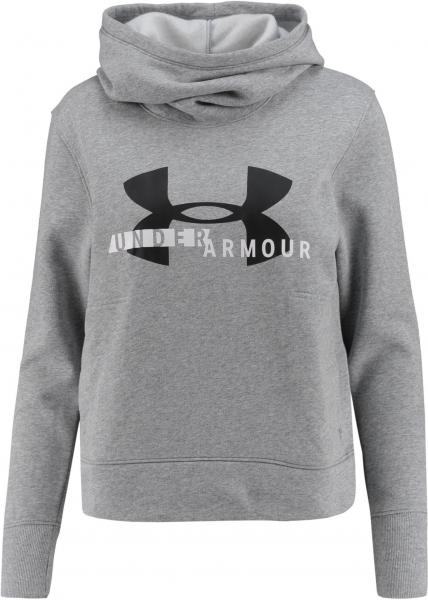 UNDERARMOUR Damen Sweatshirt \Cotton Fleece Sportstyle Logo Hoody\