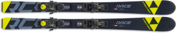 FISCHER Kinder Racing Ski RC4 RACE JR SLR + FJ7 AC SLR