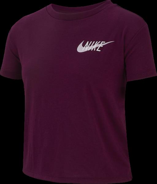 NIKE Mädchen Fitness-Shirt Kurzarm