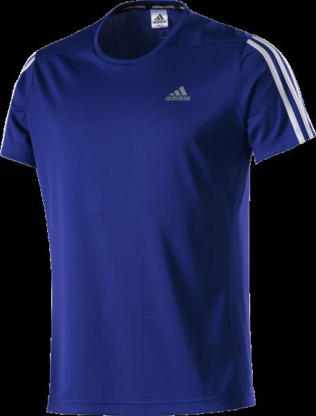 ADIDAS Herren T-Shirt OZ blau