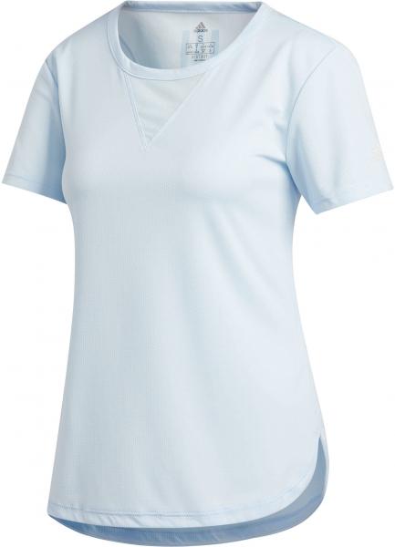 ADIDAS Damen Trainingsshirt \3-Stripes Heat.Rdy\ Kurzarm