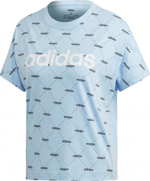ADIDAS Damen T-Shirt Linear Graphic