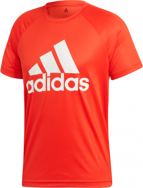 ADIDAS Herren Shirt D2M TEE LOGO