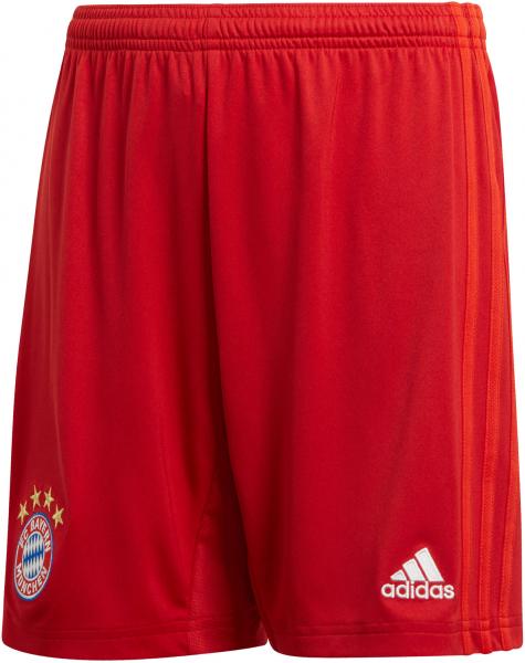 ADIDAS Jungen Fußballshorts \FC Bayern München Heimshorts\