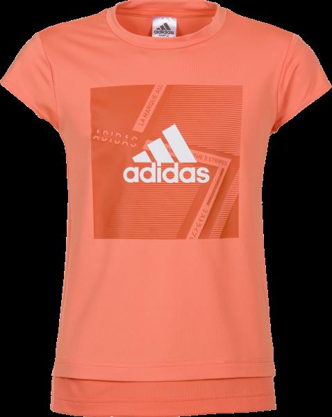 adidas Mädchen Branded T-Shirt
