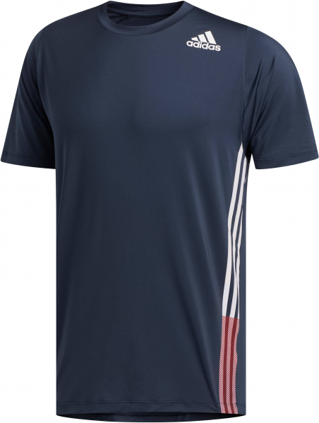 ADIDAS Herren Trainingsshirt \FreeLift\ Kurzarm