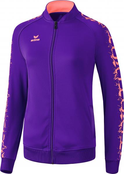 ERIMA Fußball - Teamsport Textil - Jacken 5-Cubes Graffic Tracktopjacke Damen
